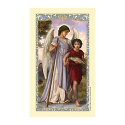 St. Raphael Laminated Holy Card - 25/pk