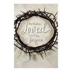 For God So Loved... I'm Forgiven Devotional Book - 12/pk