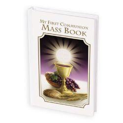 Bread of Life First Communion Mass Book - Girl