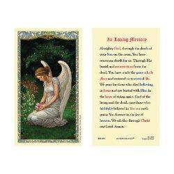 Memorial Prayer Laminated Holy Card - 25/pk