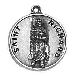 Creed® Sterling Patron Saint Richard Medal