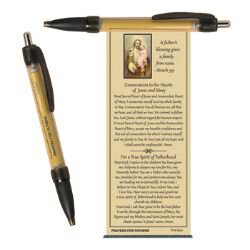 Prayers for Fathers Banner Pen - 24/pk
