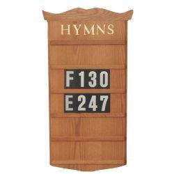 Hanging Hymn Board