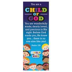 Child of God Lapel Pin with Bookmark - 12/pk