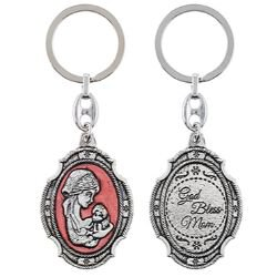 Madonna and Child Key Chain - 12/pk
