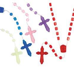 Cord Rosary Assortment (5 Asst) - 100/pk