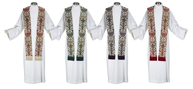 Coronation Collection Overlay Stoles - Set of 4