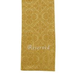 Avignon Collection Pew Reserve Cloth - 4/pk