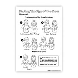 Making the Sign of the Cross CYO Poster - 50/pk
