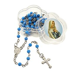 Rosary in Madonna Case Assortment - 16/pk