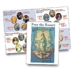 Pray the Rosary Booklet - 100/pk