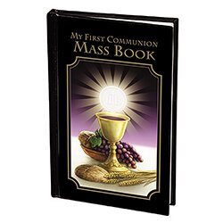 Bread of Life First Communion Mass Book - Boy