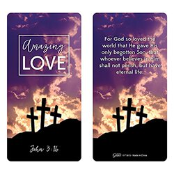 Amazing Love Hand-Held Prayer Cross with Card