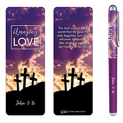 Amazing Love Gift Pen with Bookmark