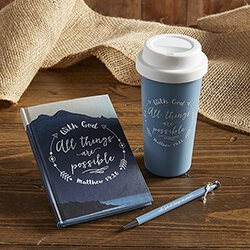 With God All Things are Possible Arrow Charm Pen