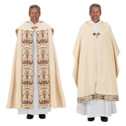 Coronation Collection Cope and Humeral Veil Set