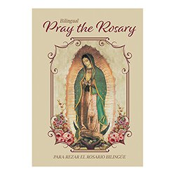 Bilingual Pray the Rosary Booklet - 12/pk