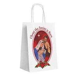 Tidings of Great Joy Nativity Gift Bag - 24/pk