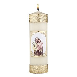 Devotional Candle - St. Joseph and Child