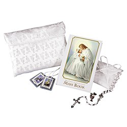 Traditional Memories First Communion Satin Purse Set