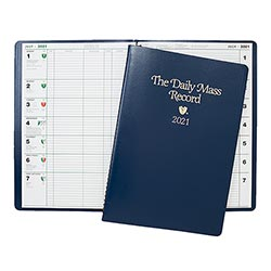 2021 The Daily Mass Record Book