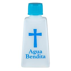 Tapered Spanish Holy Water Bottle - 24/pk