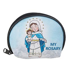 Mini Saints Our Lady of the Rosary Case - 12/pk