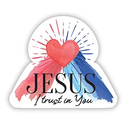 Jesus I Trust in You Magnet - 24/pk