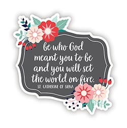 Be Who God Meant You to Be Magnet - 24/pk