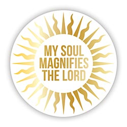 My Soul Magnifies the Lord Magnet - 24/pk