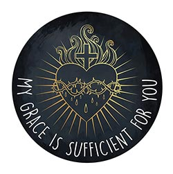 My Grace is Sufficient for You Magnet - 24/pk