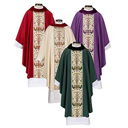 Coronation Collection Cowl Neck Chasuble - Set of 4