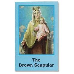 Brown Scapular Book - 24/pk