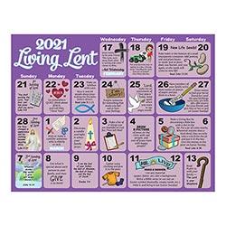 2021 Children's Lenten Activity Calendar - 100/pk, Gifts ...