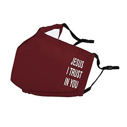 Jesus, I Trust in You Face Mask - 6/pk