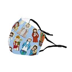 Mini Saints Child Face Mask - 6/pk