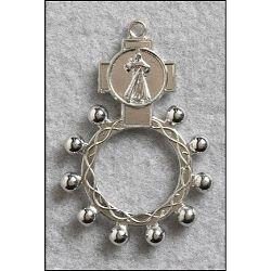 Divine Mercy Rosary Ring - 50/pk