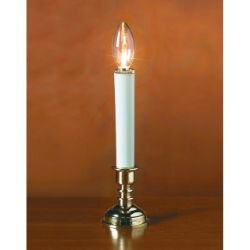 Battery-Operated Holiday Candle - 12/pk