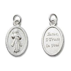Divine Mercy Mini Devotional Medal - 100/pk