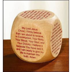 First Communion Prayer Cube™