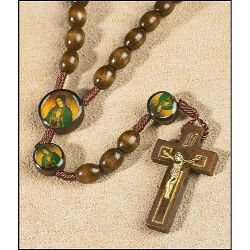 Our Lady of Guadalupe Devotional Cord Rosary
