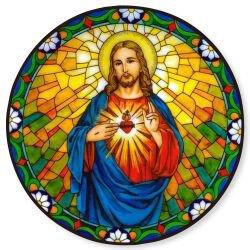 Sacred Heart Static Sticker
