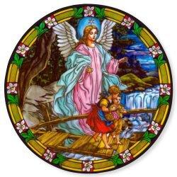 Guardian Angel Static Sticker