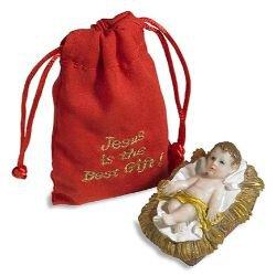 Infant Jesus with Gift Bag - 6/pk