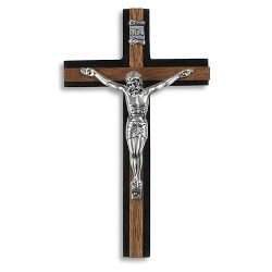 Two-Tone Wall Crucifix - 2/pk