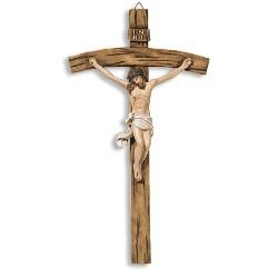 Papal Wall Crucifix