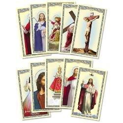 Christ Holy Card Assortment - 100/pk