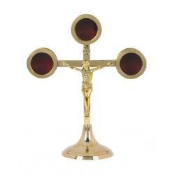Small Triune Crucifix Reliquary