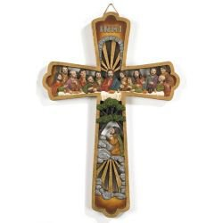 Last Supper Cross - 2/pk