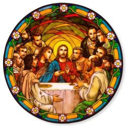 Last Supper Static Stickers